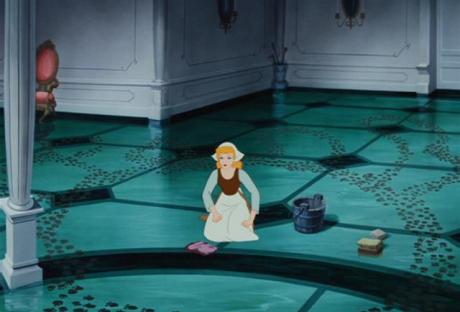 Cinderella paw prints
