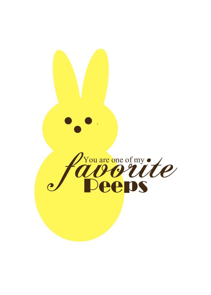 Fav Peep yellow