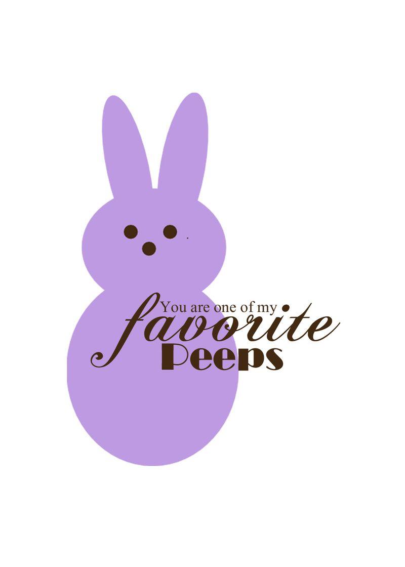 Fav Peeps purple